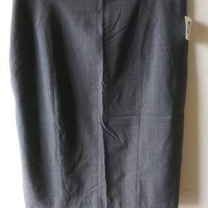 Anne Klein Suit Skirt - Gray